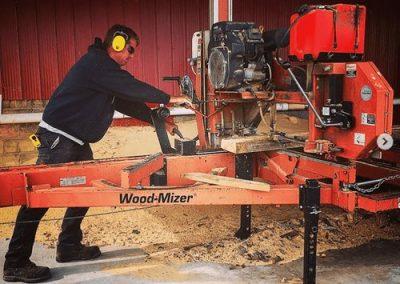 Wood-Mizer Sawmill service southern ontario